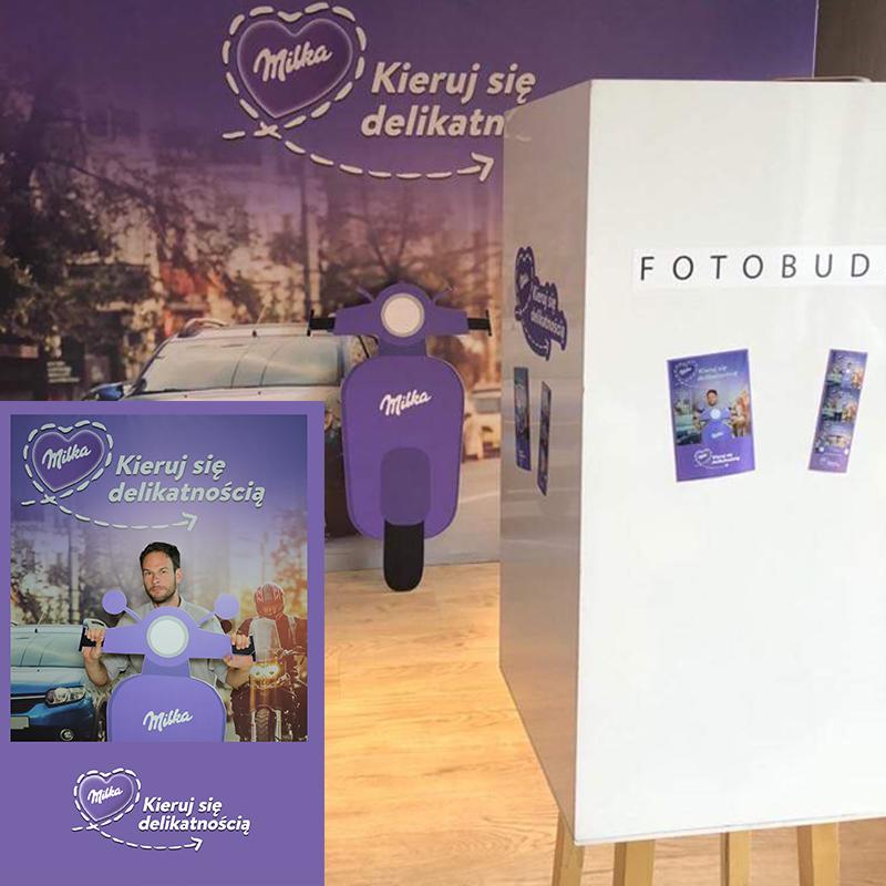 akcesoria fotki z budki wykonane na użytek kampanii reklamowej