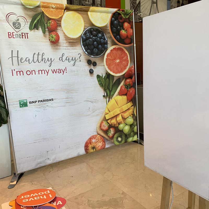fotobudka podczas promocji produktów